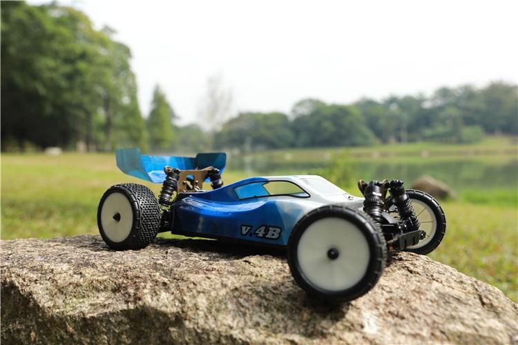 Vkar racing 1/10 v.4b #21201 4wd 오프로드 버기 모든 전기 부품이없는 전체 자동차-에서RC 카부터 완구 & 취미 의  그룹 3