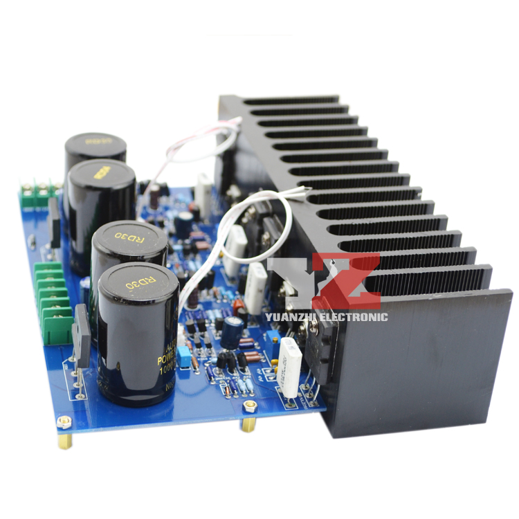 Assembled MT-150 150W Class A/AB Power amplifier board ( no heatsink) assembled mt 150 150w class a ab power amplifier board no heatsink