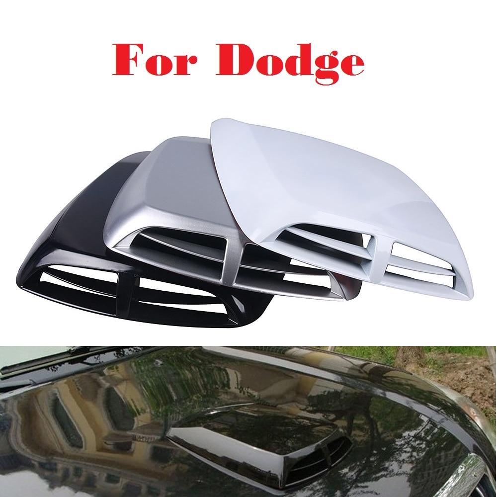 2017 Air Flow Intake Hood Scoop Vent Bonnet Cover Car Stickers For Dodge Avenger Caliber Challenger Charger Dart Durango