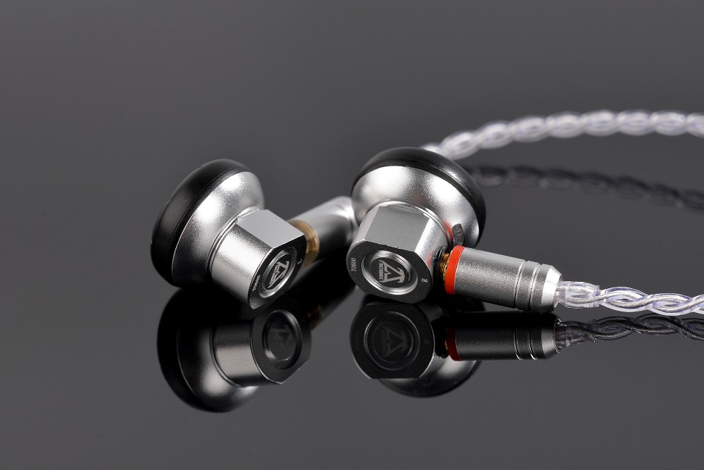 2018 New TONEKING TO600 In Ear Earbuds Graphene Dynamic High Impedance 600ohm Flat Head Plug Earburd TONEKING Alloy Tune Earbud