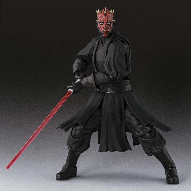 Star Wars SHF S.H.Figuarts Darth Maul PVC Action Figure Collectible Model Toys Doll 15cm cartoon cute pikachu bobble head car decoration doll pvc action figure collectible model toy 7 styles 15cm