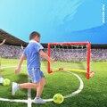 Portátil Dobrável Crianças Objetivo Garoto Conjunto Porta Futebol Brinquedo Esportes Brinquedo Porta de Futebol Ao Ar Livre Indoor