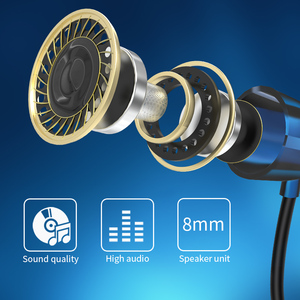 Image 5 - Bluetooth Kopfhörer Drahtlose Kopfhörer Laufsport Bass Sound Cordless Ohr telefon Mit Mikrofon Für Iphone Xiaomi Ohrhörer