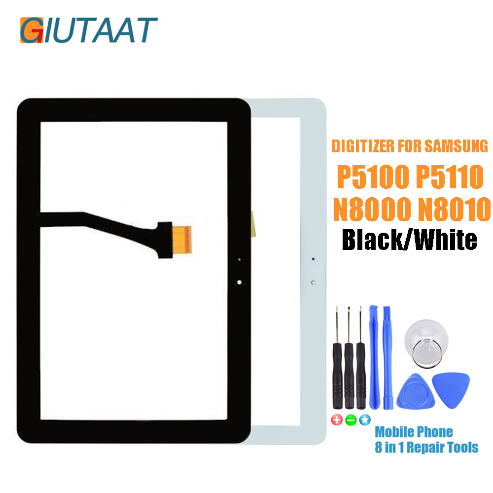 "Touch Screen glass  Digitizer  part for samsung galaxy  tab 2 10.1/"" p5100 p5110"