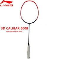 Li Ning N90IV TD ракетки для бадминтона 3D расписанию профессиональных Li Ning спортивные ракетки AYPM402 1 L847OLA