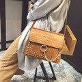 2017 de Luxo Famoso Designer Da Marca Shouler Bag Mulheres Bolsa de Couro Saco Crossbody Para Mulheres Mensageiro Saco Bolsos Sac A Principal