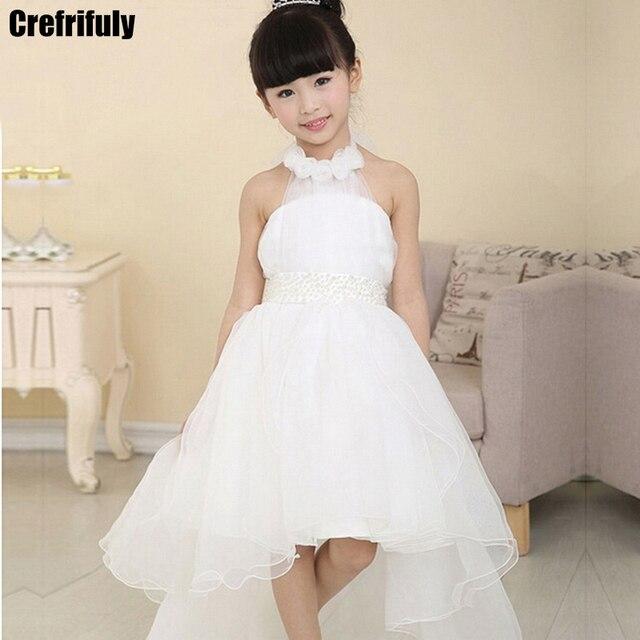 Crefrifuly Wysokiej Jakości Suknia ślubna Dla Dzieci Dziewczyna