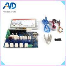С настраиваемым потоком воздуха, клон kayfun Duet 2 Wi-Fi V1.04 DuetWifi Расширенный 32 бит электроники с 5 »5i интегрированный paneldue Сенсорный экран для BLV MGN куб