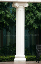 Pedra esculpida pilares Romanos estilo Grego Ionic Angular de mármore colunas portal posts portão pilares feitos sob encomenda