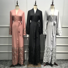 Abayas For Women 2019 Kaftan Abaya Sequin Muslim Hijab Dress Robe Dubai Caftan M
