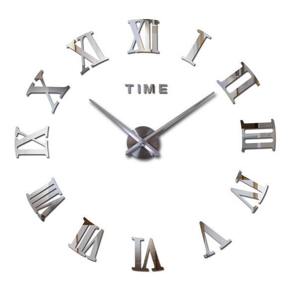10 Stks Mode Quartz Horloge Home Decor Limited Koop 3d Grote Spiegel Diy Real Wandklok Modern Design Kamer Gift