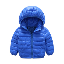 2017 new authentic baby girl and boy sports style jacket children winter jacket style size 3-6 year old children's thin coat