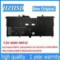 7 6 V 46Wh NNF1C новый оригинальный NNF1C Аккумулятор для ноутбука Dell XPS 13 9365 HMPFH XPS13-9365-D1805TS N003X9365-D1516FCN