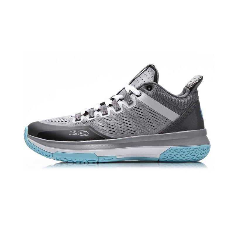 Li-ning hommes Wade toute la journée 2 sur cour chaussures de basket-ball respirant amorti doublure baskets chaussures de Sport ABPM013 XYL110 - 6