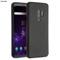 QIALINO Fashion Case for Samsung Galaxy S9 Luxury Genuine Leather Phone Bag Cover for Samsung S9 Plus Back Case for 5.6/6.1 inch
