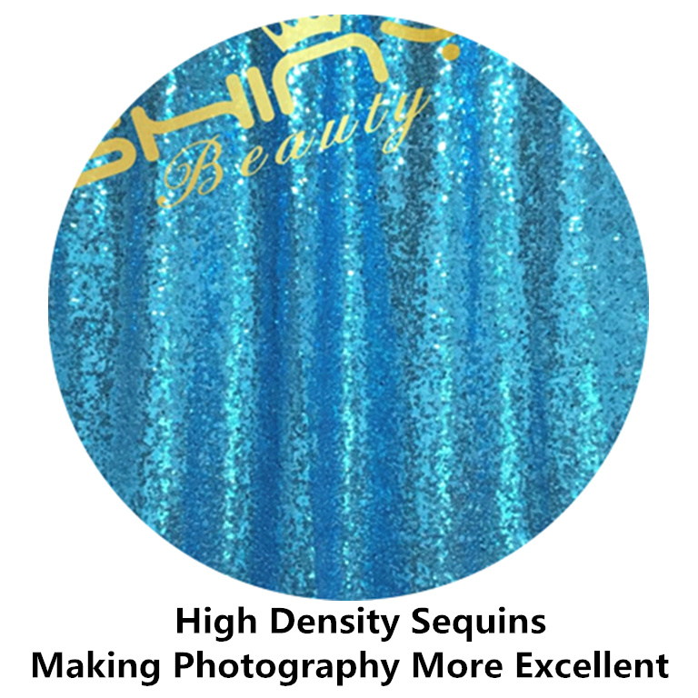 beste uitverkoop 2 stks sequin curtain 3x8ft shimmer sequin stof fotografie sequin gordijnen achtergrond achtergrond turquoise decora in beste uitverkoop