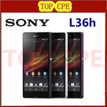 "L36h Original Sony Xperia Z L36h C6603 C6602 LT36h 13.1MP camera Quad-Core 5.0""TouchScreen 16GB Phone Refurbished free shipping"