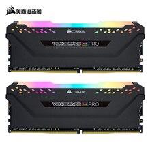 CORSAIR Vengeance DDR4 RGB PRO ram 2 шт 8 Гб двухканальный 3000 МГц 3200 МГц 3600 МГц модуль памяти DIMM для компьютера поддерживаемая материнской платой