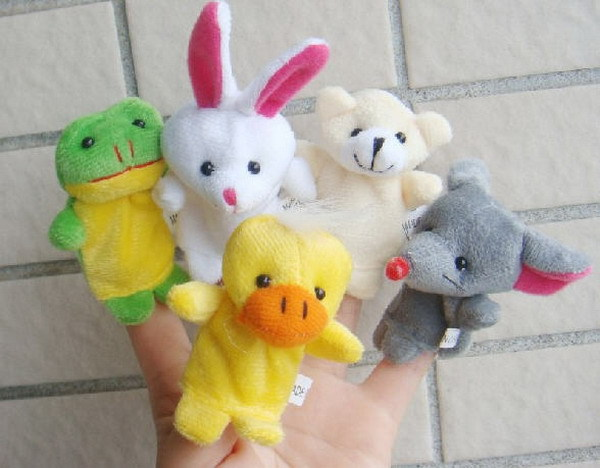 10pcsLot-Cartoon-Animal-Velvet-Finger-Puppet-Finger-Toy-Finger-Doll-Baby-Cloth-Educational-Hand-Toy-Story-2
