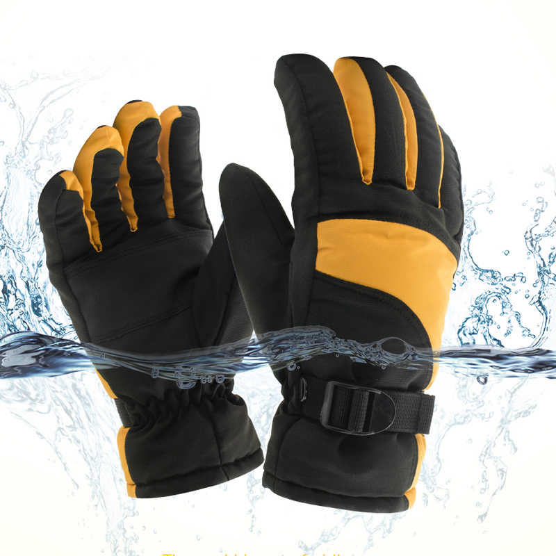 Free shipping Waterproof Sports Gloves Warm Windproof Men Women Skiing Gloves Snowboard Snowmobile Winter Ski Gloves