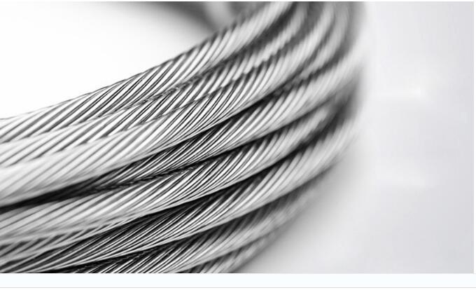 10m/lot 2mm High Stainless Steel Wire Rope Tensile Diameter 7X7 Structure Cable Gray  high quality 50 meters 1 5mm 1 7mm stainless steel wire rope