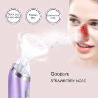 Electric 4 Color Vacuum Acne Cleanser Pore Cleaner Blackhead Remover Beauty Equipment Beauty Facial Skin Care Forehead Unisex