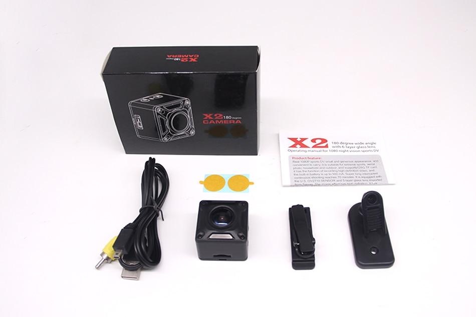 X2 Mini DV Camera Full HD 1080P Micro Camera Draagbare Mini Camera - Camera en foto - Foto 6