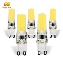 5pcs G9 COB LED Corn Light Bulb 3W AC220V No Flicker Spotlight Chandelier High Quality Chandelier Light Replace 20W Halogen Lamp(China)