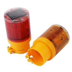 Image 3 - Rouge jaune voyant solaire LED bateau lumière Navigation durgence Flash lumière bateau alarme lampe pour avertissement de route de la circulation