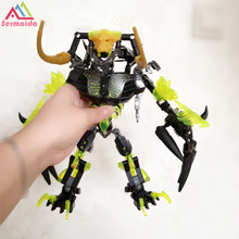 sermoido BIONICLE 191pcs Umarak Destroyer figures 614 Building Block Toys Compatible Legoings Christmas Gift