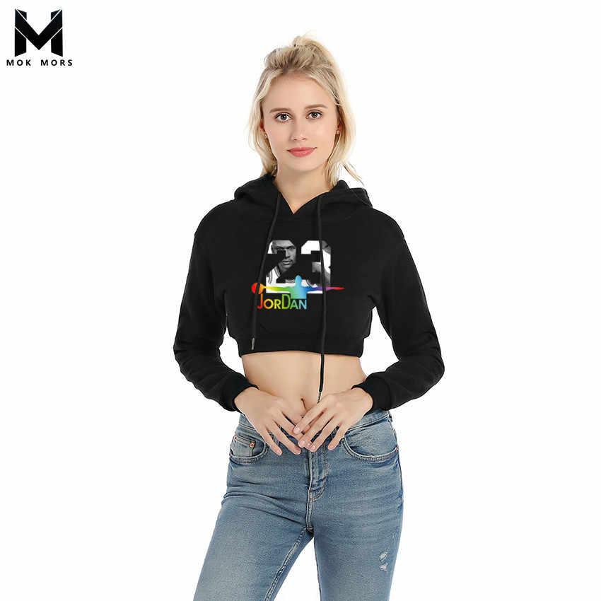 e97d1253f16625 Brand Cotton Fashion JORDAN 23 Women Sportswear Print Womens Hoodies  Pullover Hip Hop Woman Tracksuit Sweatshirts