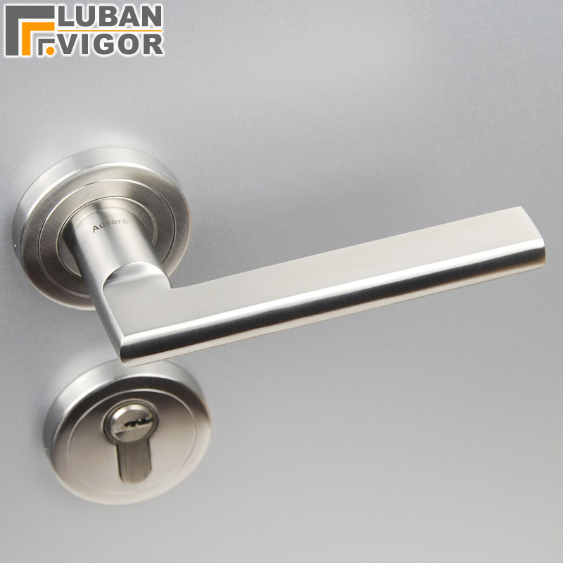 304 stainless steel Solid door handle absolutely luxurious value for money Split indoor handle home hardware