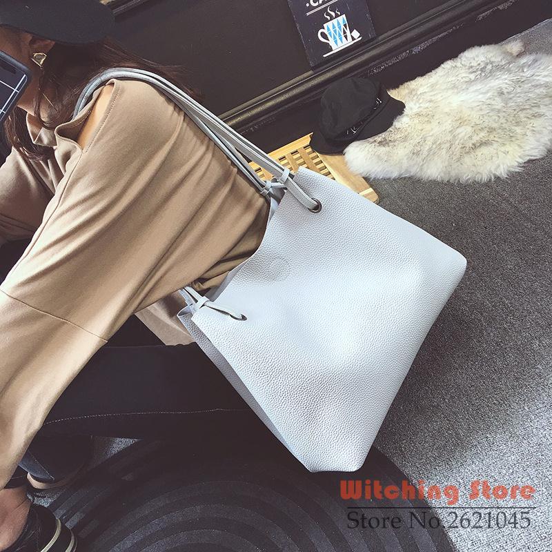 ФОТО Perfect# 2016 new winter embossed composite single big capacity portable fashion handbags FREE SHIPPING