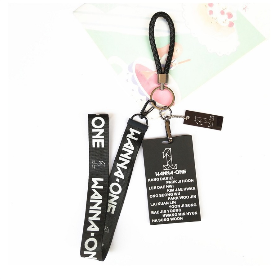 Kpop Bts Bt21 Blackpink Twice Wanna One Id Badge Bus Card Holder Case With Lanyard Neck Strap Fashion Keychain Available In Various Designs And Specifications For Your Selection Jewelry & Accessories Beads & Jewelry Making