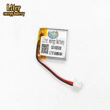 XHR-2P 2,54 3,7 V 600mAh 602530 полимерная литиевая батарея MP3 звуковая карта считывающая машина батарея