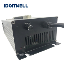 Customized 2000W adjustable current Battery Charger 36V 40A 35A 30A 3 stages charger for power battery pack