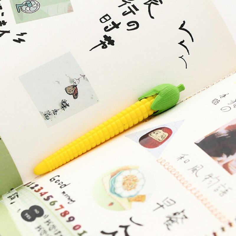 Купить с кэшбэком 1pcs/ cute Corn modeling rubber eraser kawaii school supplies papelaria  child Learning stationery Materiale Scolastico