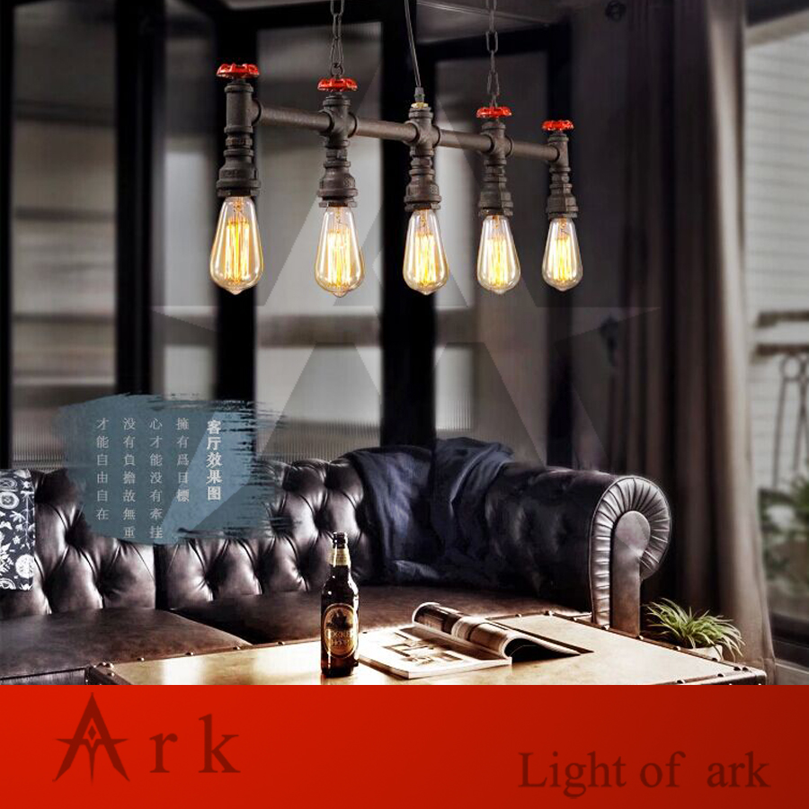 ark light Free Shipping Hot Selling 5 HEADS WATER PIPE Droplight pendant light for living room bar COFFEE HOUSE, TEA ROOM hot selling for toyota ecu self learn tool free shipping with best price shipping free