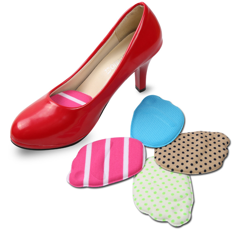 forefoot shoes pads high heel soft insole anti slip foot