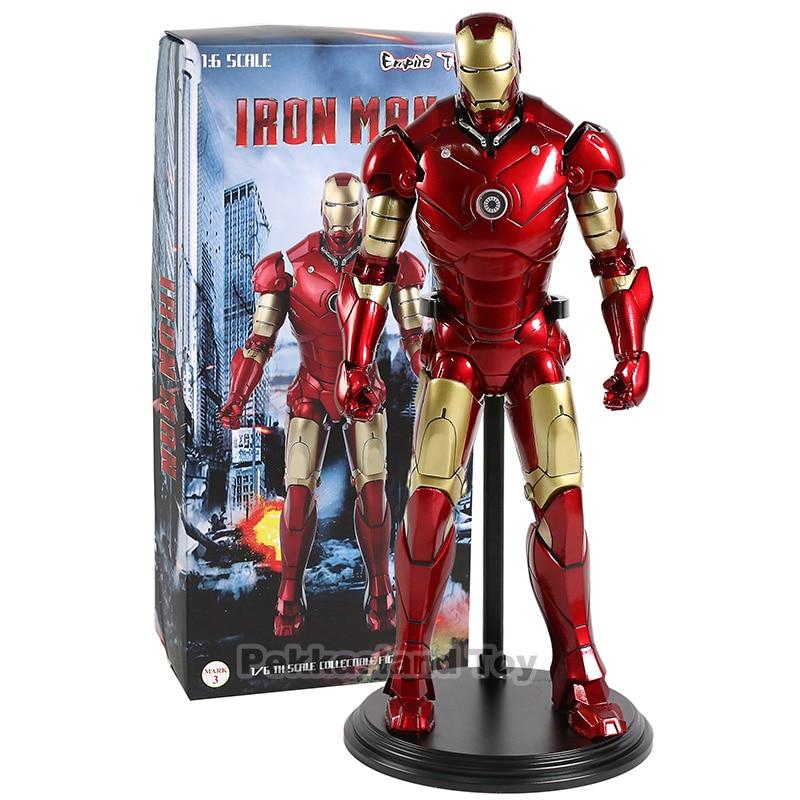 1:6 echelle fer homme marque 3 Ironman figurine d'action 1/6th echelle a collectionner modele jouet pour cadeau anniversaire