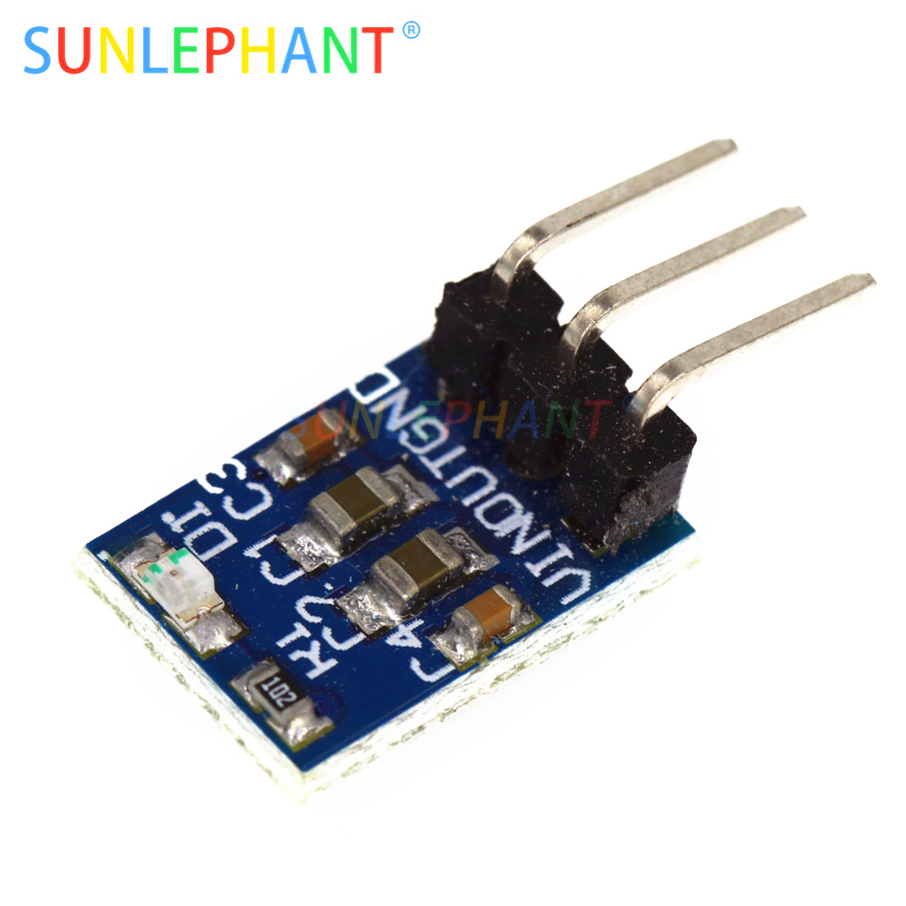 1PCS <font><b>AMS1117</b></font>-3.3 LDO 800MA DC <font><b>5V</b></font> to 3.3V Step-Down Power Supply Module image
