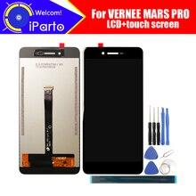 Display LCD Vernee Mars PRO Touch Screen Digitizer pannello in vetro per schermo LCD testato originale al 100% per adesivo marron PRO tools