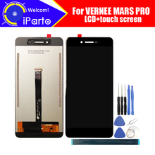 Vernee Mars PRO LCD ekran + dokunmatik ekran Digitizer 100% orijinal test LCD ekran cam Panel Mars PRO + araçları + yapıştırıcı
