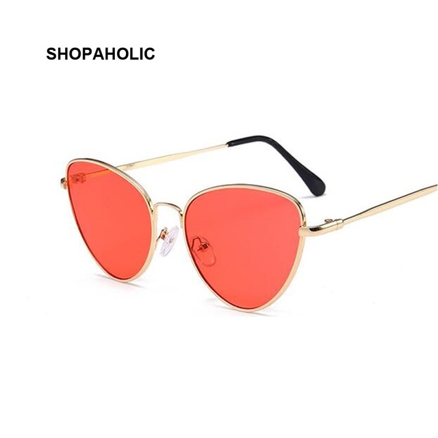 caa6b1b5f4 Rétro De Luxe lunettes de Soleil Femmes Marque Designer Célèbre De Mode  Rose Or Lunettes de