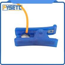 Tüp Kesici Naylon PVC PU Kauçuk Silikon Plastik Tüp Ve 1 M PTFE Tüp Teflonto TL-Besleyici KIMLIK 1.9mm OD 4mm Klon Capricornus T...