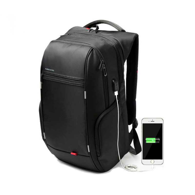 13 15 17 Fashion Backpack Men Women Laptop Backpack External USB Computer Notebook Backpack Anti-theft Business Trip Bag Pack cool bell anti theft notebook backpack 15 6 inch waterproof computer backpack for men women external usb charge laptop bag