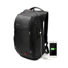 13 15 17 Fashion Backpack Men Women Laptop Backpack External USB Computer Notebook Backpack Anti theft