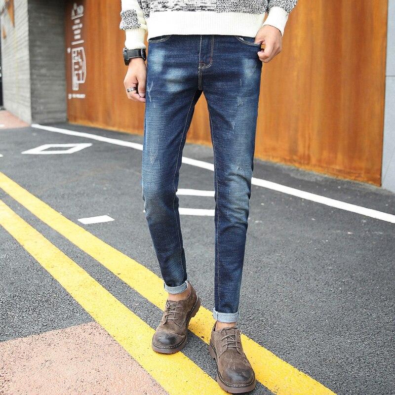 Men Jeans 2017 Fashion Denim Jeans High Quality Autumn Winter Mens Trouser New Cotton Biker Jeans Male ...