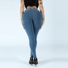Melody сексуальная форма джинсы для йоги джинсовые женские джинсы леггинсы хлопок спандекс прикладом подъема узкие джинсы в наличии навсегда