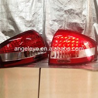 For Audi A6 LED Tail Light Rear lamp 1997 2004 year Red White SN